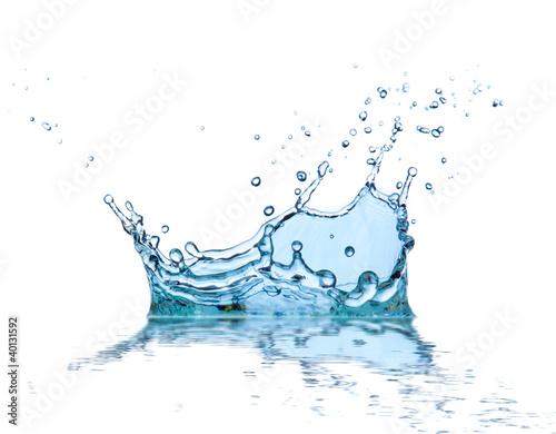 Papiers peints Eau Water splash, isolated on white background