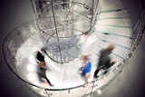 Transparent spiral staircase - 40141586