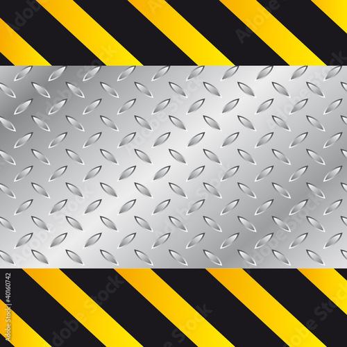 Fotografie, Obraz  Texture aluminium travaux
