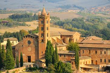Fototapeta na wymiar Basilica of Santa Maria dei Servi