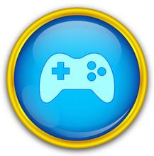 Mavi Altın çerçeveli Oyun I...