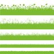 Vektor Blumenwiese Gras Grashalme Wiese