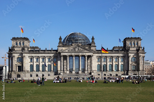Photo  Reichstag Berlin