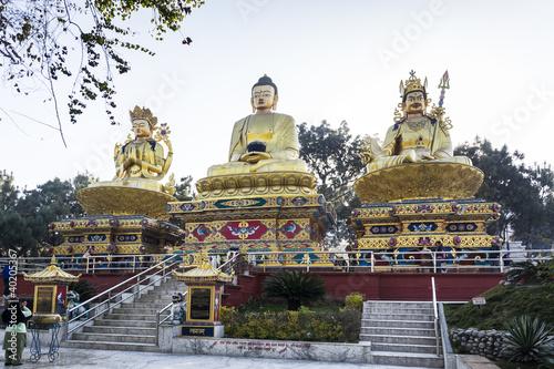 Wall Murals Nepal Swayambhunath Temple, Kathmandu, Nepal