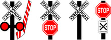 Common U.S. Railroad Crossing ...