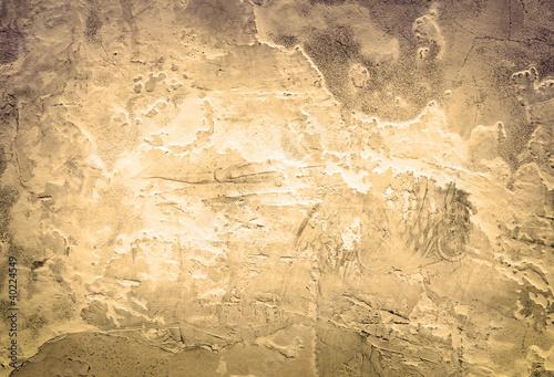 Foto auf AluDibond Alte schmutzig texturierte wand Toned stone vintage background