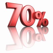 Glossy Red Seventy Percent