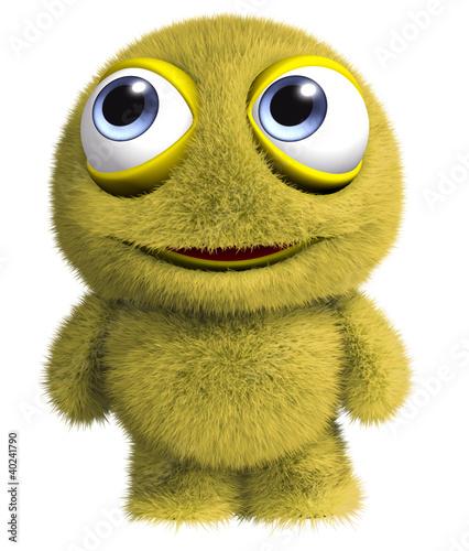 Poster de jardin Doux monstres cute monster