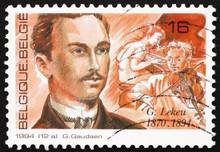 Postage Stamp Belgium 1994 Gui...