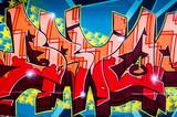 Graffiti Rot 1