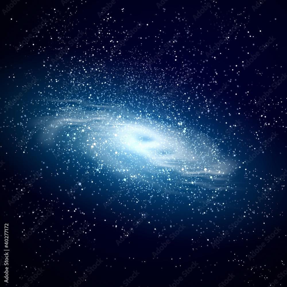 Kosmiczny obraz galaktyki <span>plik: #40277172   autor: Sergey Nivens</span>