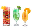 Fruit cocktails collection