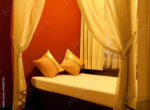 Slika na platnu Room - Bed Alcove