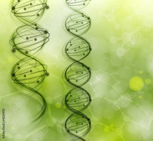 Doppelrollo mit Motiv - DNA molecules (von Elymas)