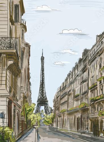 ulica-paryza-ilustracja