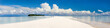 canvas print picture - Tropical island panorama