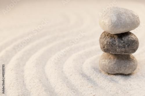 Photo sur Plexiglas Zen pierres a sable galets en équilibre méditation bien-être