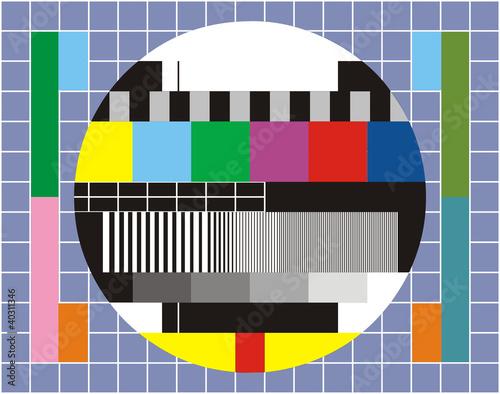 Fototapeta tv technical review obraz na płótnie