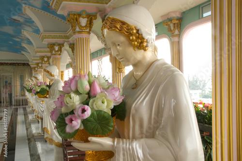 Fotografie, Obraz  Sculpture of Saint Teresa of Avila