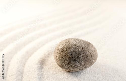Photo sur Plexiglas Zen pierres a sable galet méditation