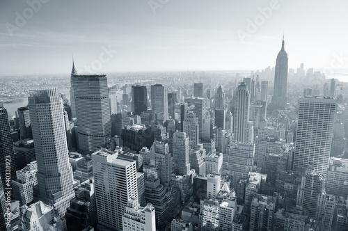 panorame-nowego-jorku-czarno-biale