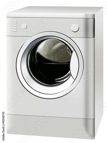 Fotografie, Obraz  machine a laver