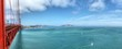 Panorama view from Golden Gate Bridge