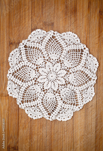 Fotografia, Obraz  crochet doily