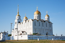 Assumption Cathedral At Vladimir Built In The 12th Century