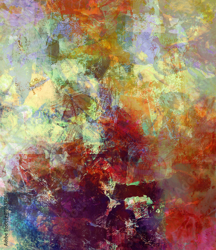 Fototapety, obrazy: malerei graphik texturen