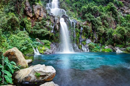 Cascade du bassin des Aigrettes - Ile de La Réunion Fototapeta