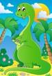 Scene with dinosaur 2
