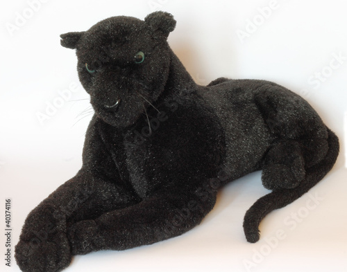 Photo Stands Panther Soft Toy - black panther