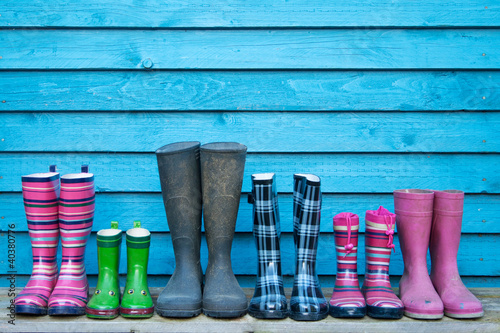 Fotografie, Obraz  rubber boots
