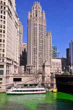 Wrigley Tower Chicago On Saint...