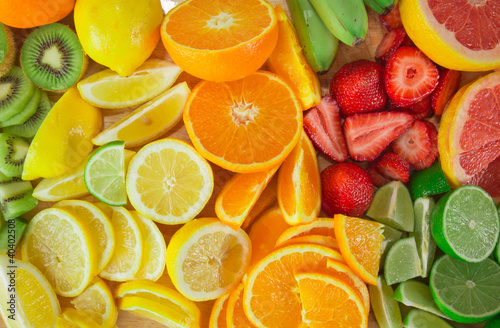 Papiers peints Fruit fruit background