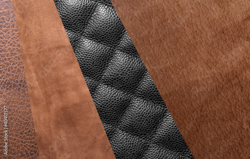 Four types of leather - Buy this stock photo and explore similar ... 95d279cb4e817