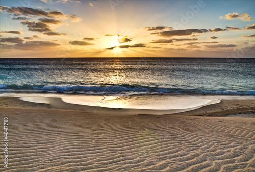 Foto-Leinwand - Kap Verde, Strand, Urlaub, Insel, Natur, Reisen (von powell83)