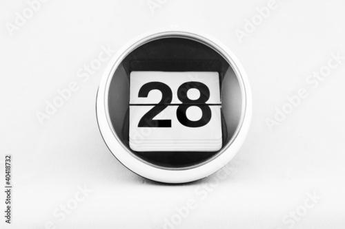 Fotografia  Kalendarz listkowy - 28