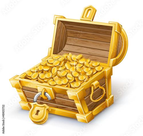 Fotografie, Obraz  Treasure Chest