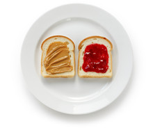 Peanut Butter & Jelly Sandwich