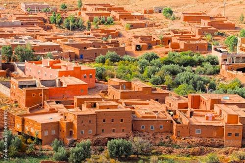 Papiers peints Maroc Ait Ben Haddu Marocco. HDR image
