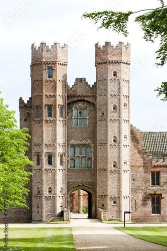 Billede på lærred Oxburgh Hall, Oxborough, Norfolk County, East Anglia, England