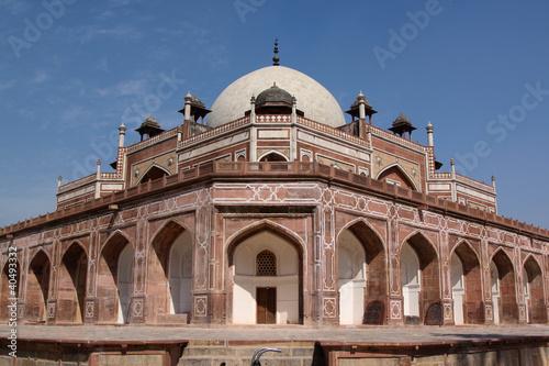In de dag Delhi Humayan's Tomb