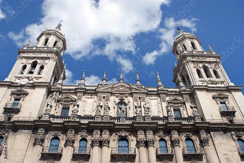 Catedral de Jaén, encuadre cerrado