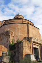 Cosima And Damiano Basilica At The Roman Forum