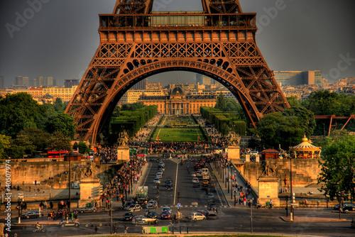 Obrazy Paryż  wieza-eiffla-arch-wieza-eiffla