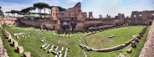 Hippodrome Stadium of Domitian, Palatine Hill Rome Fototapet