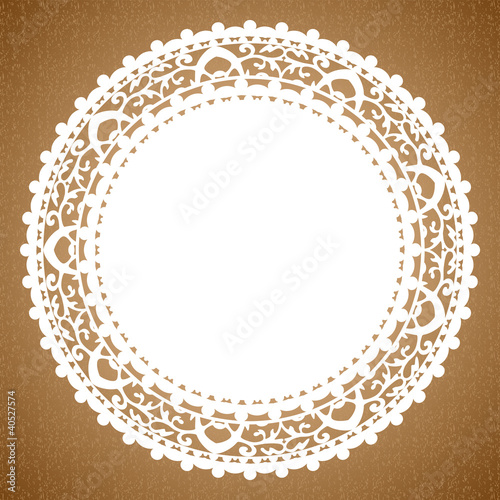Valokuva  Vector background with napkin
