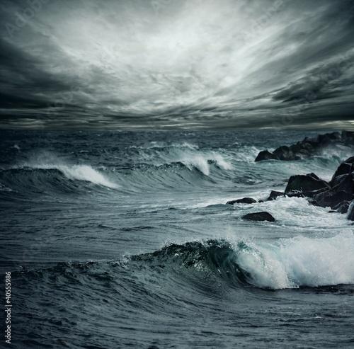 Foto Rollo Basic - Ocean storm